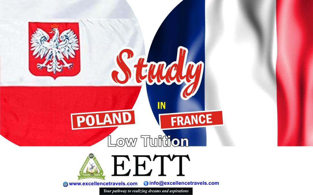 Study in France- Low Tuition Fees and Scholarship Opportunities