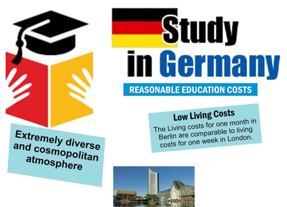 Study Free In Germany- Undergraduate, Masters and Doctoral Degree
