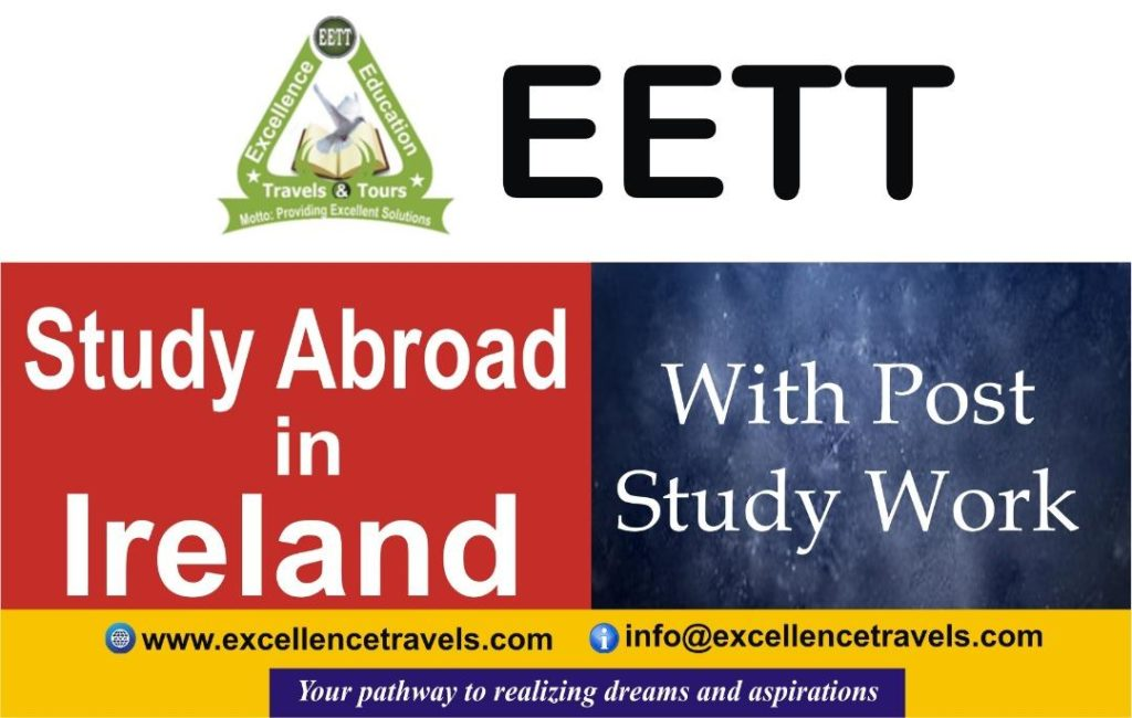 Study Abroad In Ireland With Post Study Job Opportunities