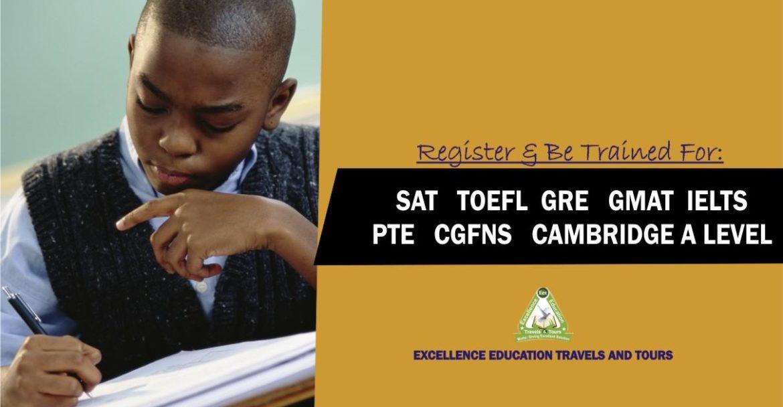 Toefl, Pte, Sat, Ielts, Cgfns, Act, Gmat, Gre Exam Dates 2019