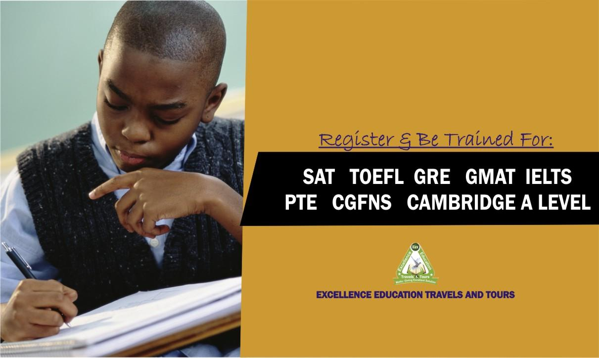 Toefl, Pte, Sat, Ielts, Cgfns, Act, Gmat, Gre Exam Dates 2019