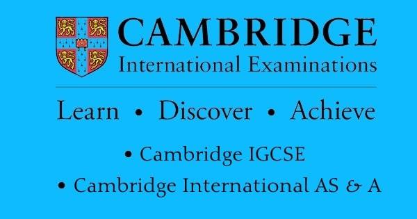 Cambridge A Level and AS Level-Cambridge International Examination