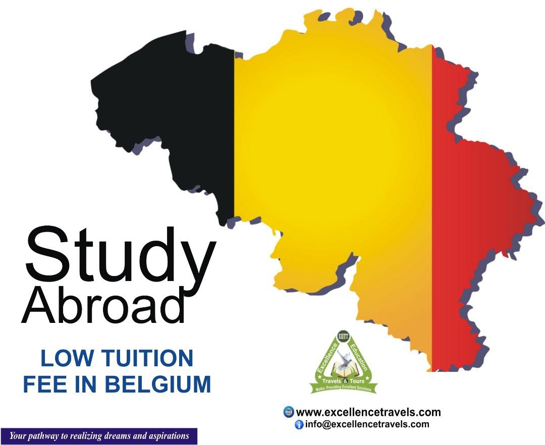 Study In Belgium-Low Tuition and Visa Processing