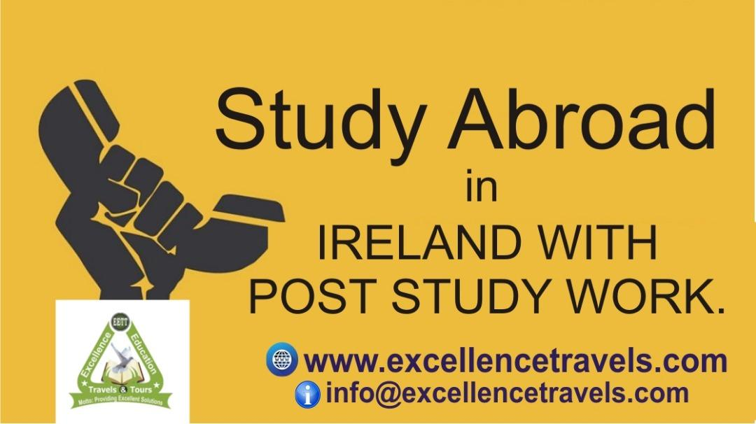 Study in Ireland with HND and have a Degree-Undergraduate & Masters